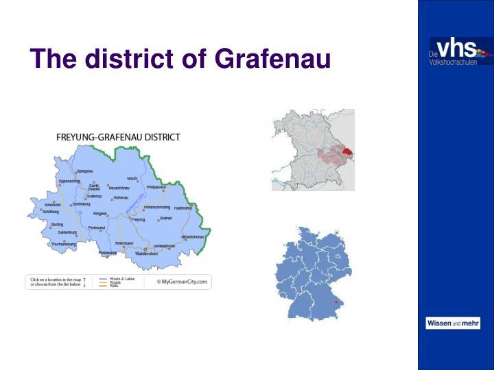 The district of Grafenau