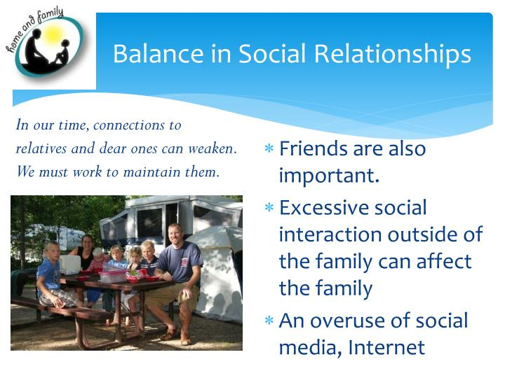 Balance in Social Relationships