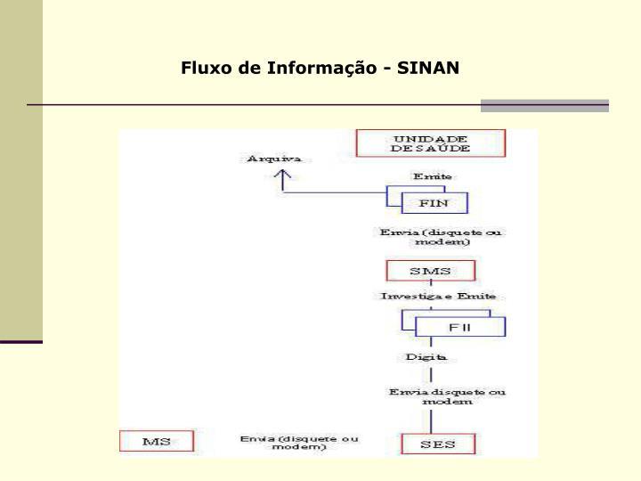 Fluxo de Informação - SINAN