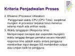 kriteria penjadwalan proses1