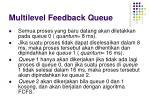 multilevel feedback queue1