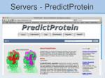 servers predictprotein