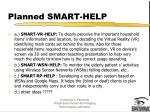 planned smart help