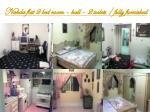 nahda flat 2 bed room hall 2 toilets fully furnished