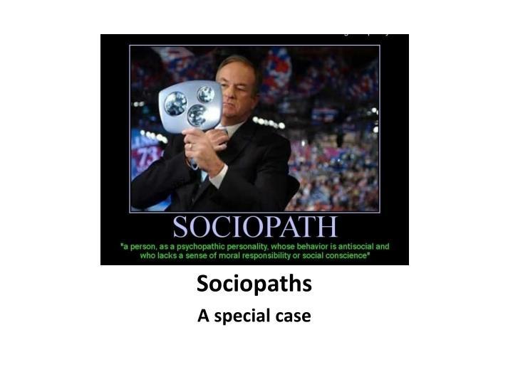 Sociopaths