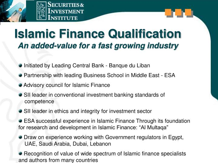 Islamic Finance Qualification