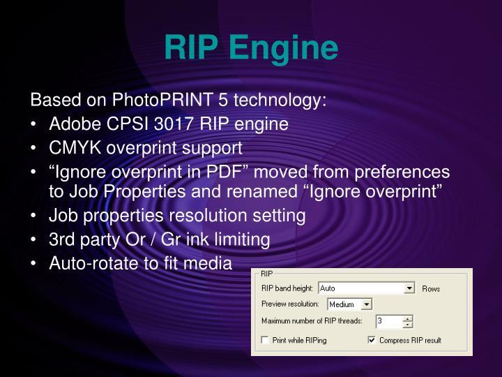 RIP Engine