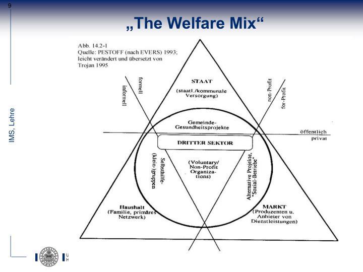 """""""The Welfare Mix"""""""