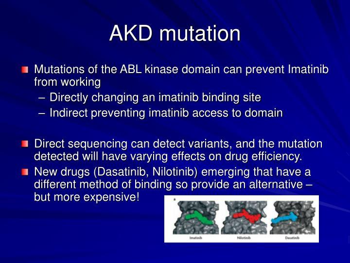 AKD mutation