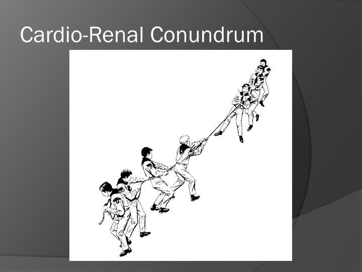 Cardio-Renal Conundrum