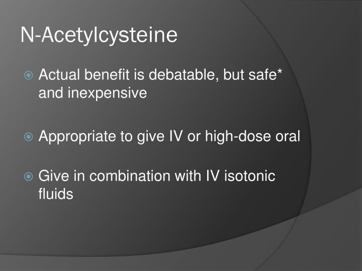 N-Acetylcysteine