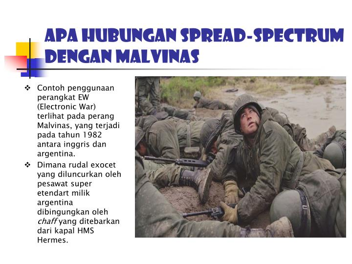 Apa hubungan spread-spectrum