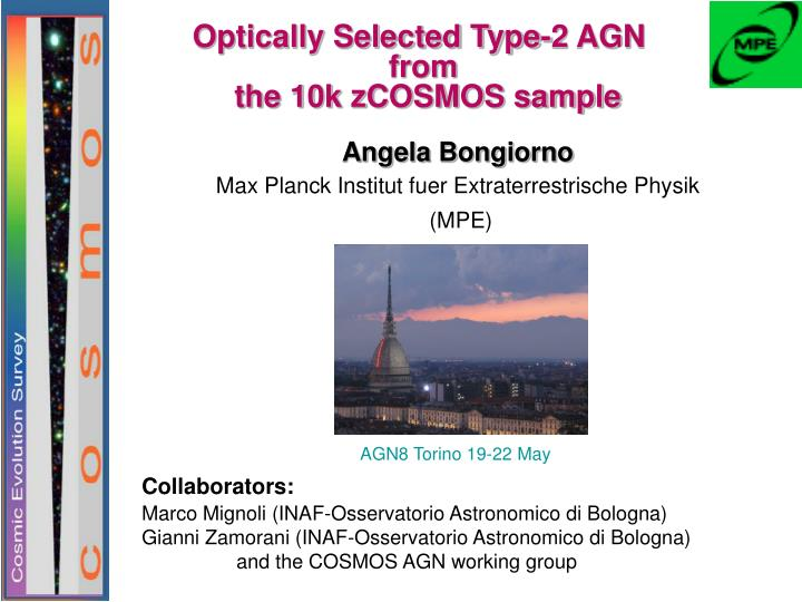 Optically Selected Type-2 AGN