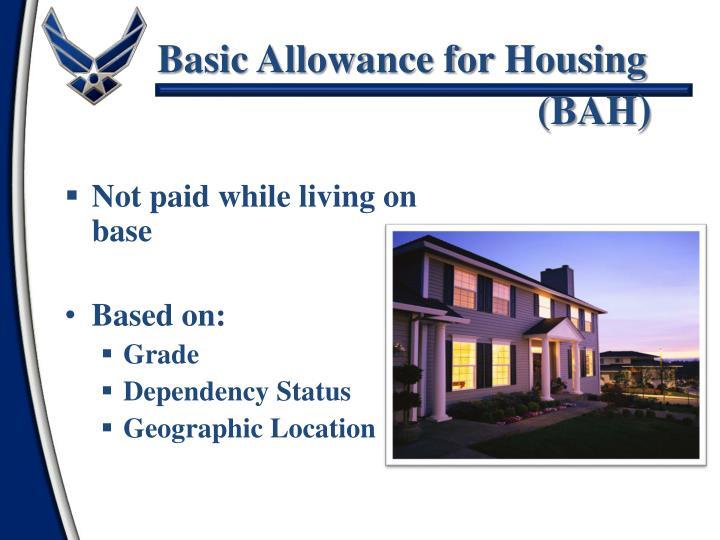 Basic Allowance for