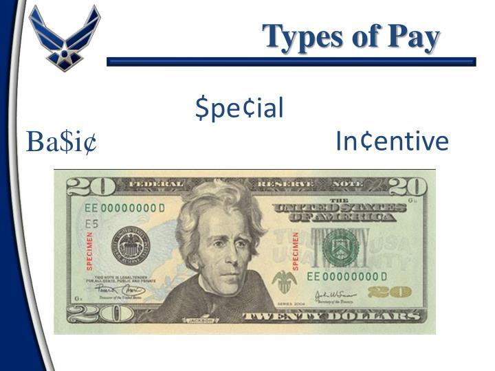 Types of Pay