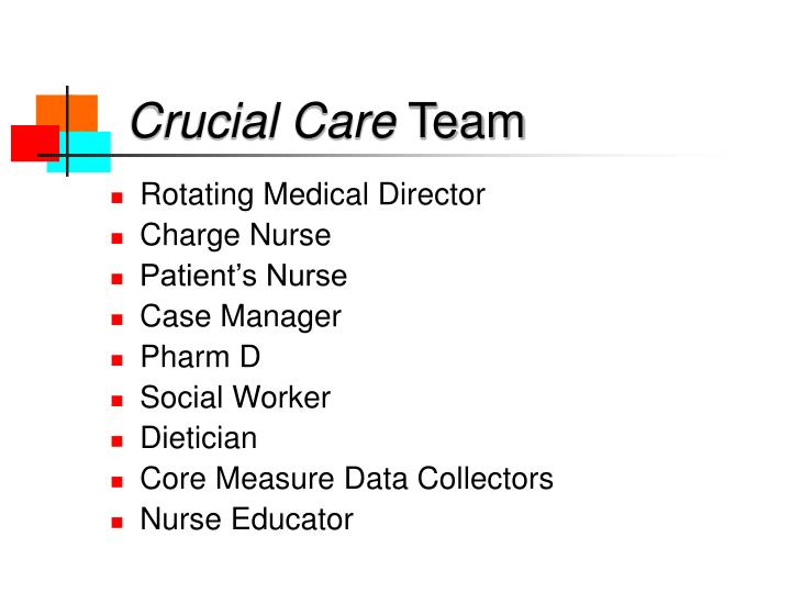 Crucial Care