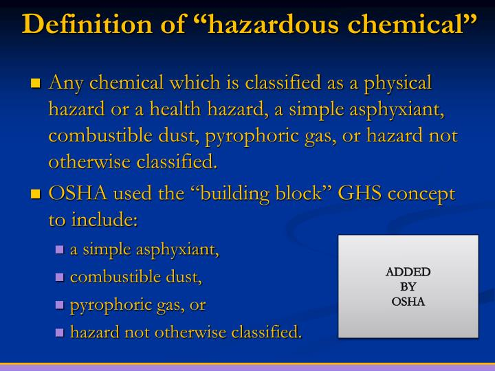 hazardous chemicals in the home essay Managing risks of hazardous chemicals in the workplace code of practice july 2012.