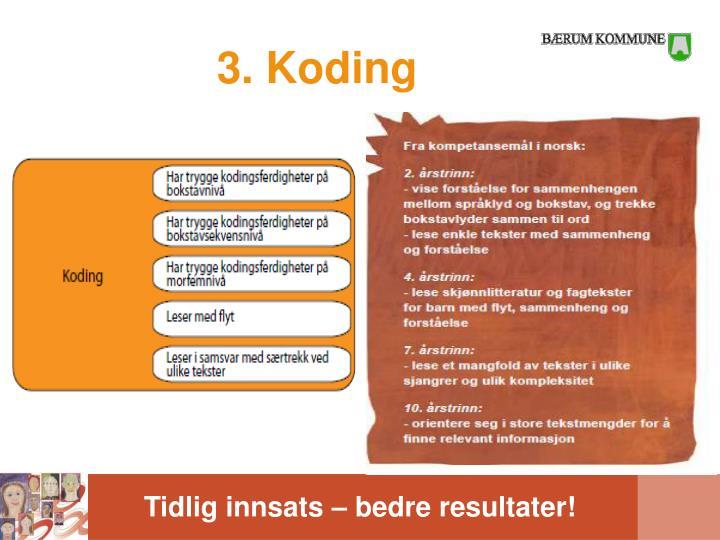 3. Koding