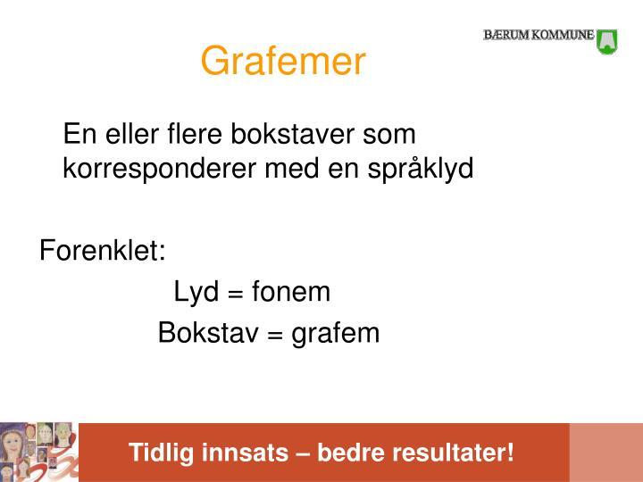 Grafemer