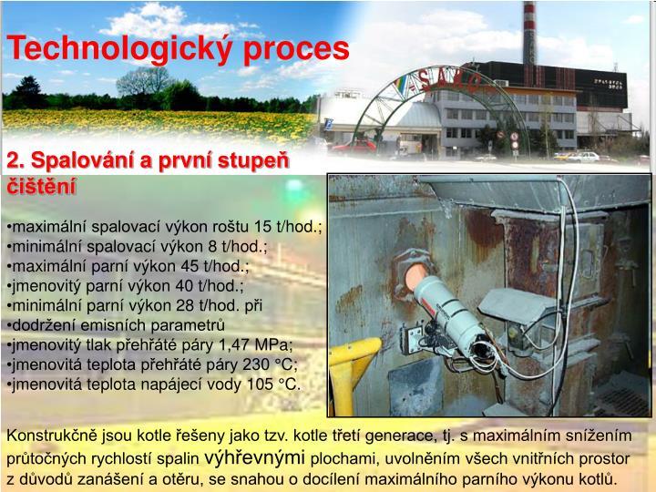 Technologický proces