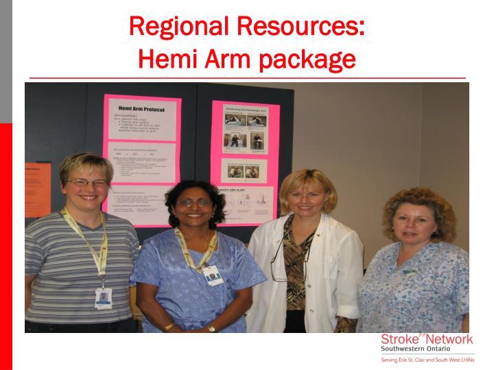 Regional Resources:
