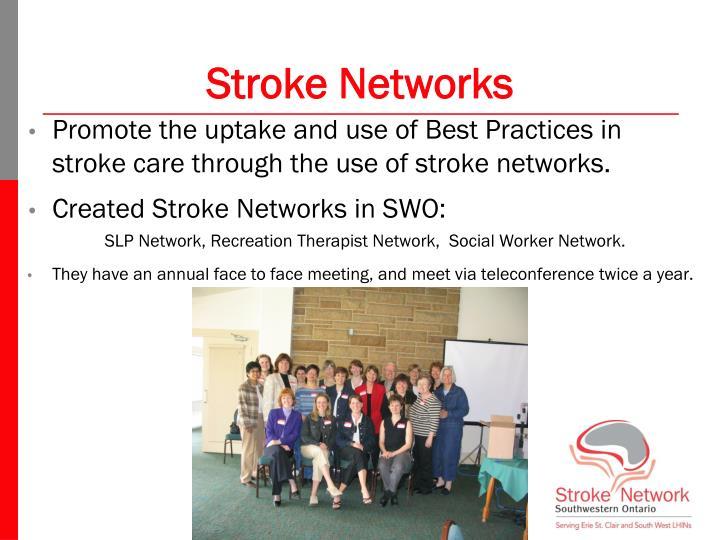 Stroke Networks