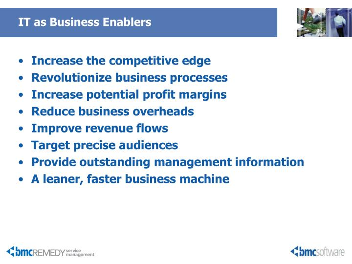 IT as Business Enablers