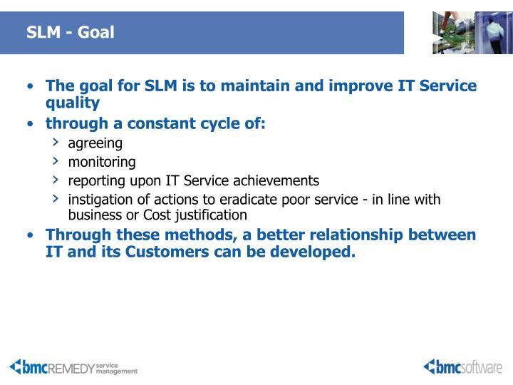 SLM - Goal