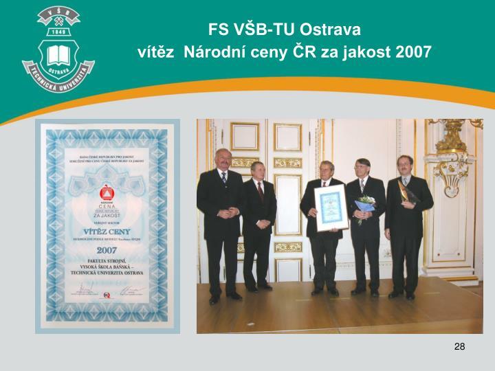 FS VŠB-TU Ostrava