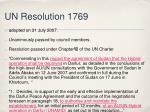 un resolution 1769