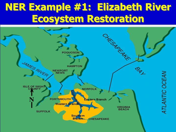 NER Example #1:  Elizabeth River Ecosystem Restoration