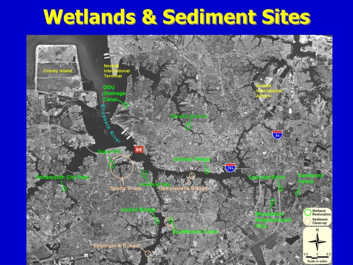 Wetlands & Sediment Sites