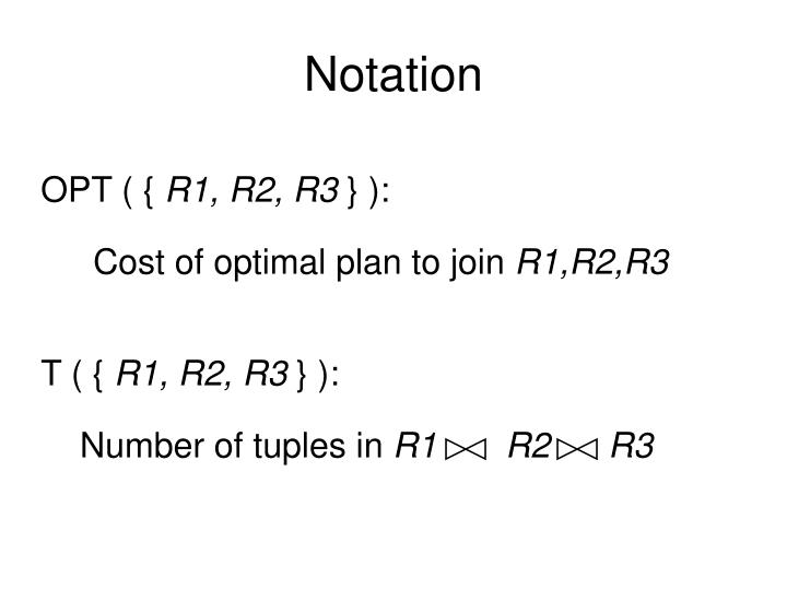 Number of tuples in