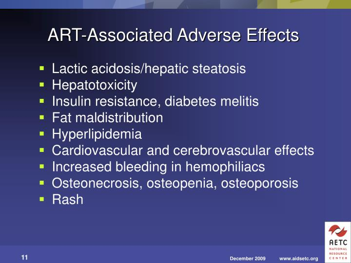 ART-Associated Adverse Effects