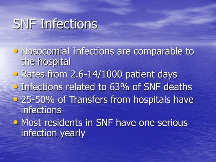 Snf infections1