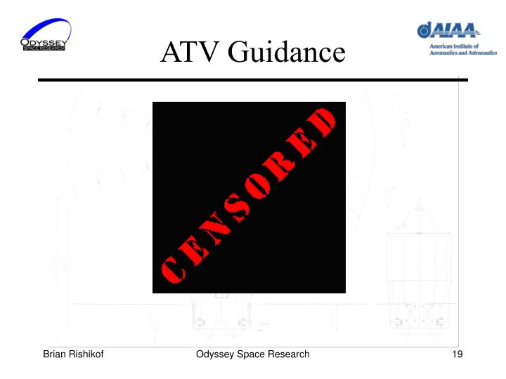 ATV Guidance
