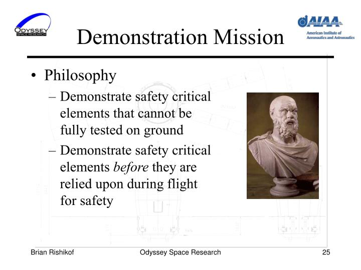 Demonstration Mission