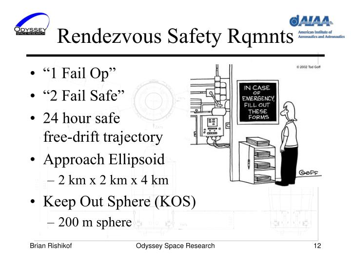 Rendezvous Safety Rqmnts