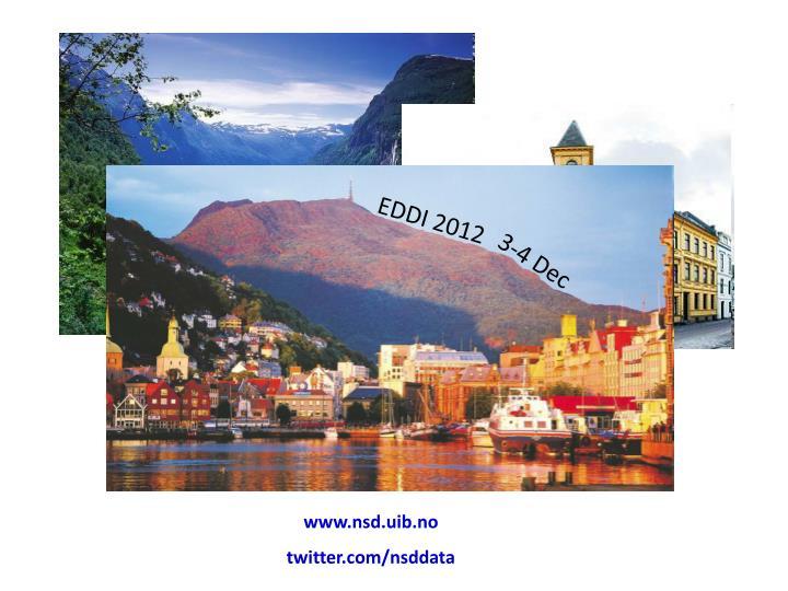 EDDI 2012