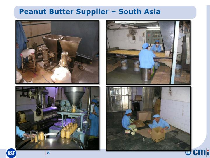 Peanut Butter Supplier – South Asia