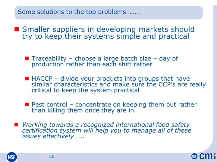 Some solutions to the top problems …….