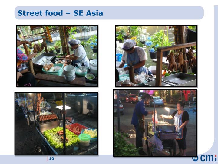 Street food – SE Asia