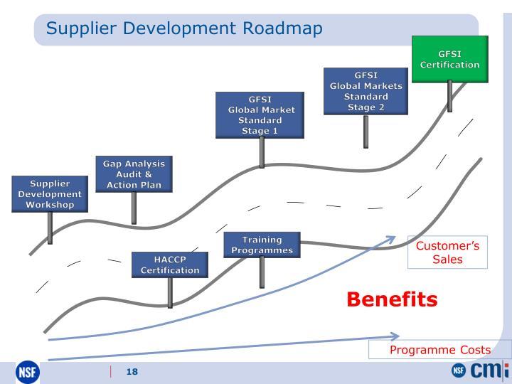 Supplier Development Roadmap