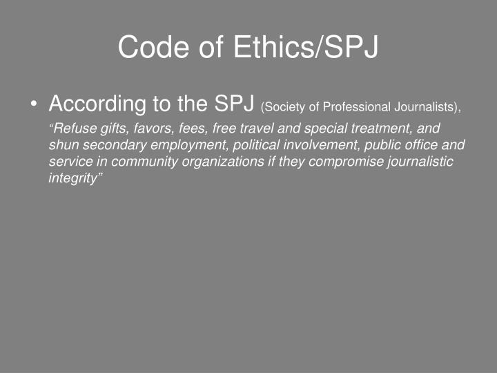 Code of Ethics/SPJ