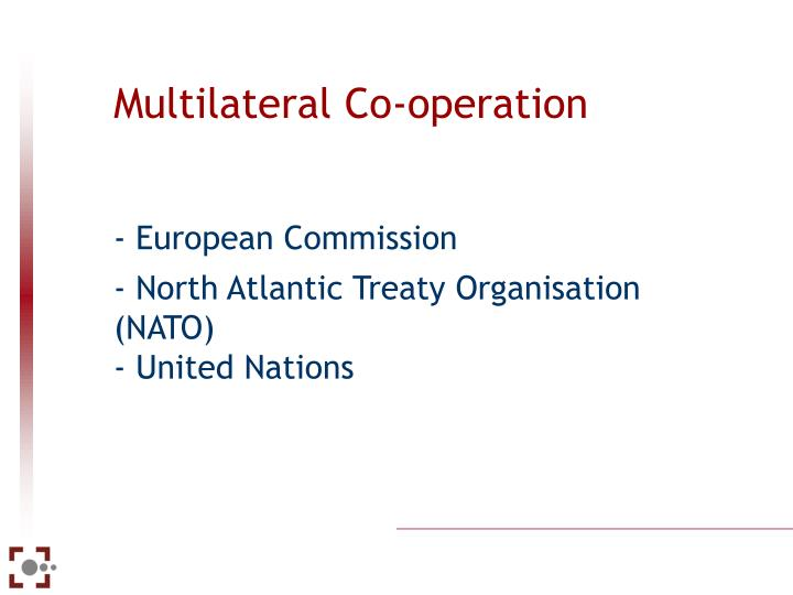 Multilateral Co-operation