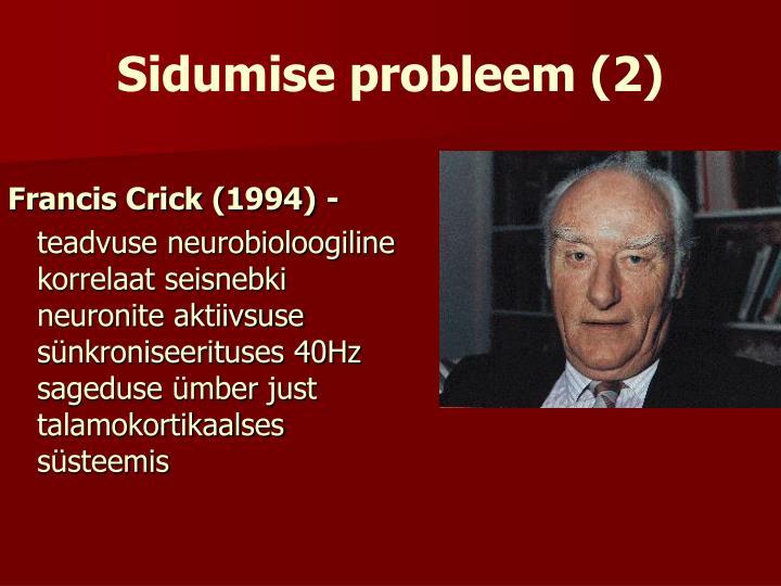 Sidumise probleem (2)