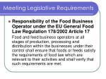 meeting legislative requirements2