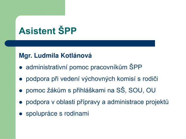 Asistent ŠPP