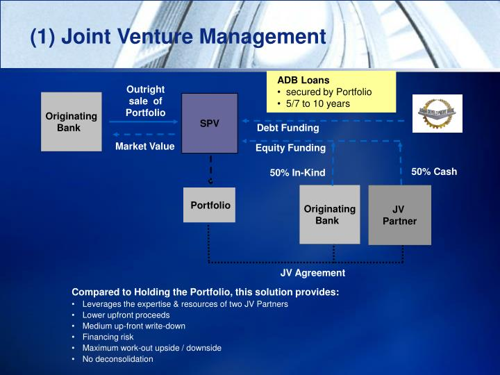 (1) Joint Venture Management
