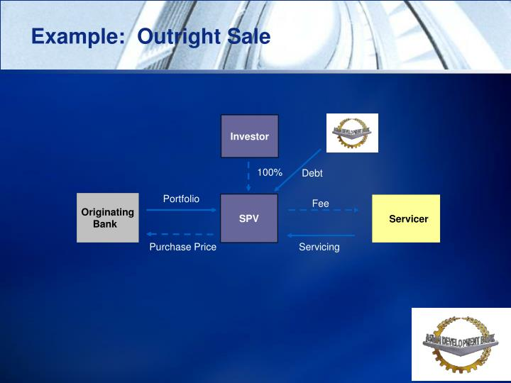 Example:  Outright Sale